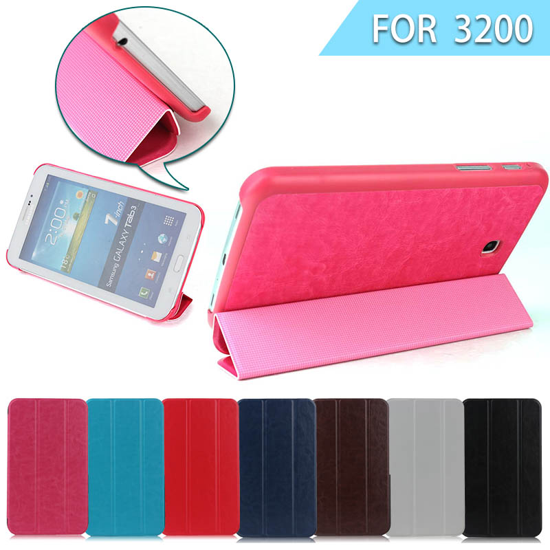 Hot Crazy Horse Folding cover case for samsung galaxy tab 3 7.0