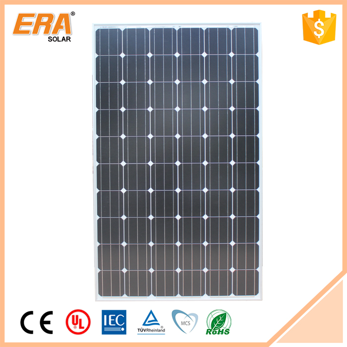Energy-saving RoHS CE TUV Outdoor Monocrystalline Solar Panel 250W