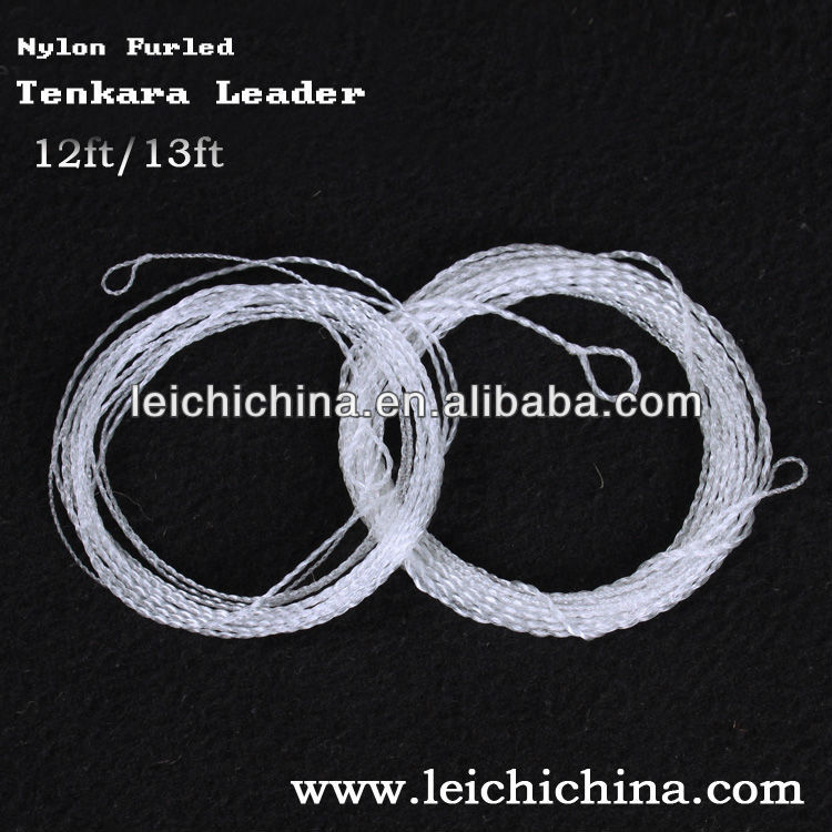 Wholesale fly fishing line Nylon furled tenkara leader