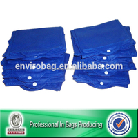 Lead Free Non Woven Promotional Folding Bag Into Pouch
