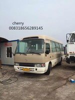 LHD toyota coaster bus diesel bus for sale