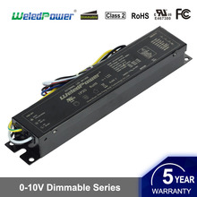 4 Channels Output Flicker-free 0-10V Dimmable LED Driver 80W LED Power Supply UL