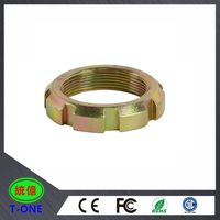 OEM CNC machining steel fabrication / brass precision customized brass CNC milling part