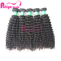 Virgin human hair from very young girls free sample Peruvian curl human hair