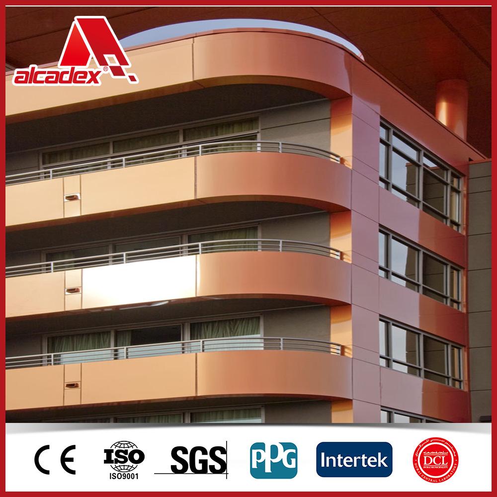 Guest House Bronze Exterior Wall Cladding Aluminium Composite Panel Buy Guest House Aluminium