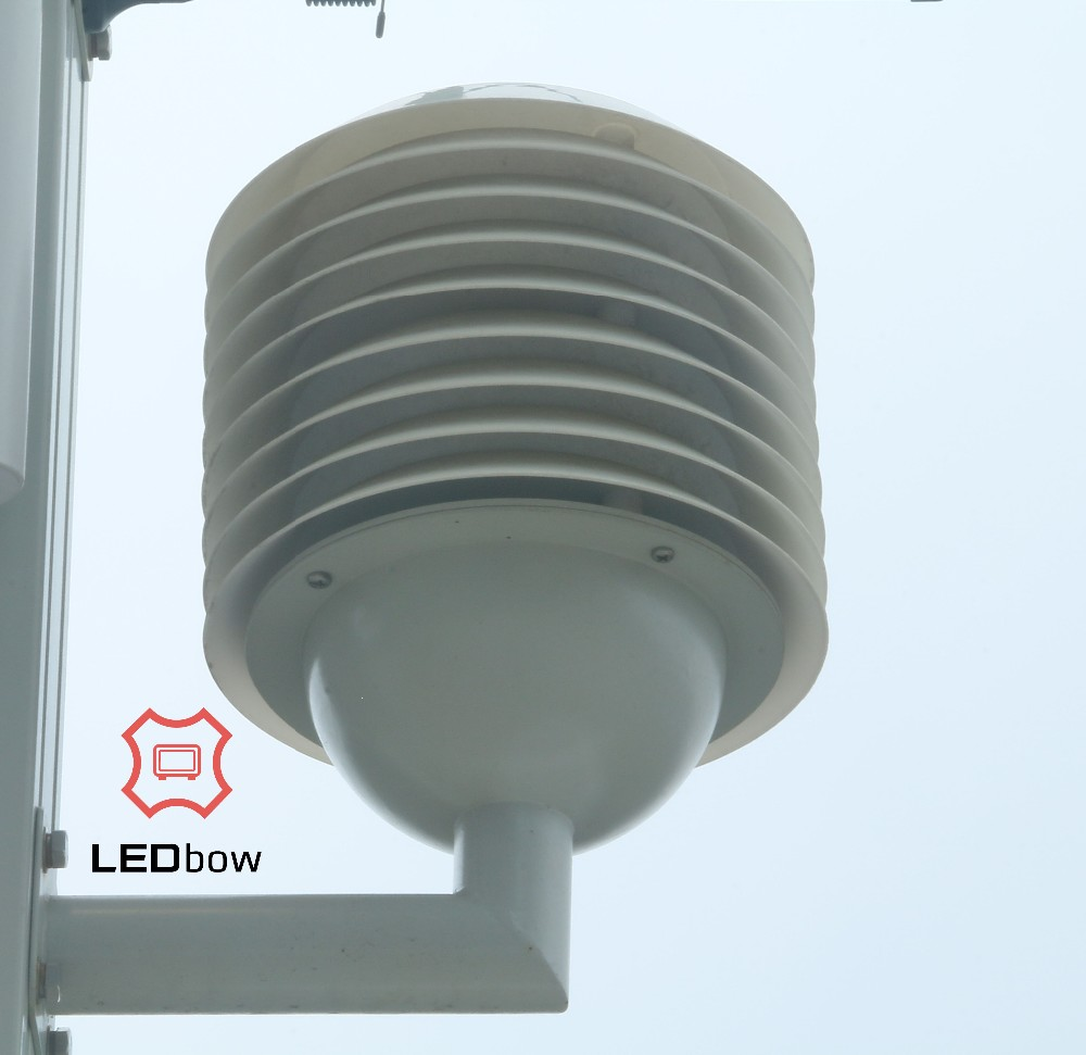 LEDbow Integrated Smart Pole d new types of lighting poles in green smart city