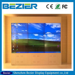samsung 55 inch digital signage hd 1080p 700 nits did ultra narrow bezel 5.3mm LED backlight LCD tv walls for touch screen lcd