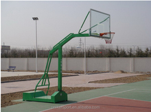 2016 Fast delivery indoor basketball goal posts portable basketball stand for sale