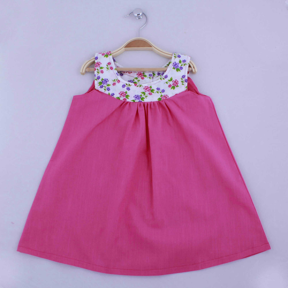 SUMMER 2015 GIRLS DRESSSES COTTON PUFFY PIE BRANDED MADE IN TURKEY