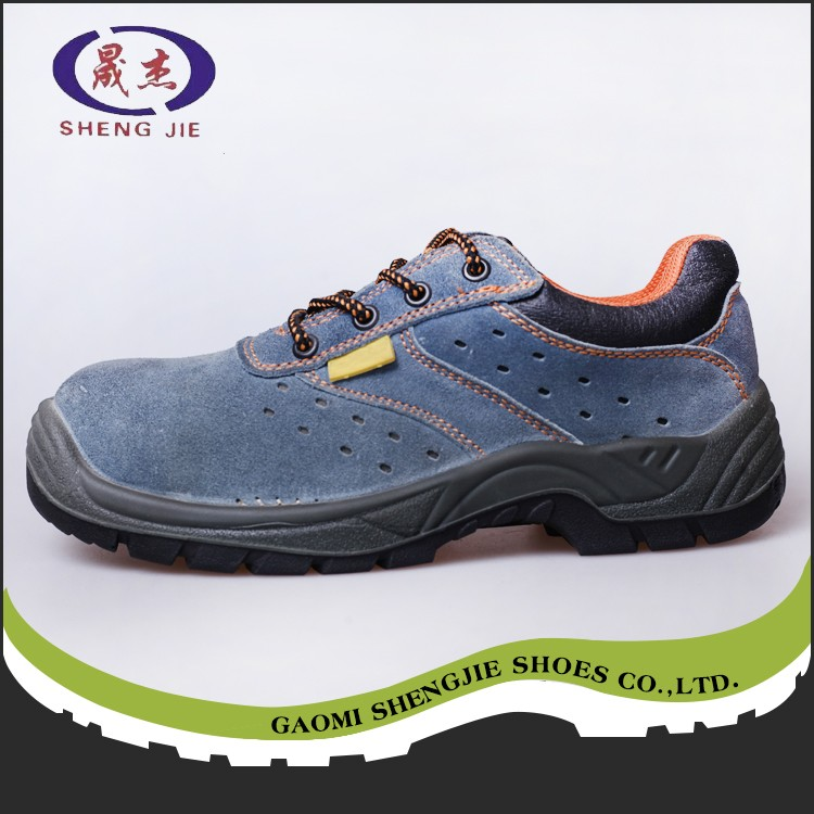 Good Quality cheap construction pu injection safety shoes