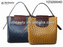 2013 Fake Ostrich trendy fashion newest designed bags handbags