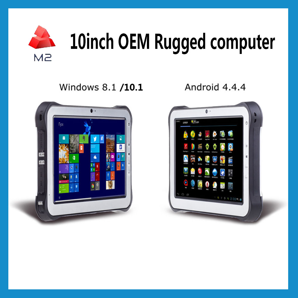 Windows Rugged tablet waterproof 10inch RFID Mobile PC Computer Terminal NFC RFID Industrial PDA Handheld with 2D Barcode