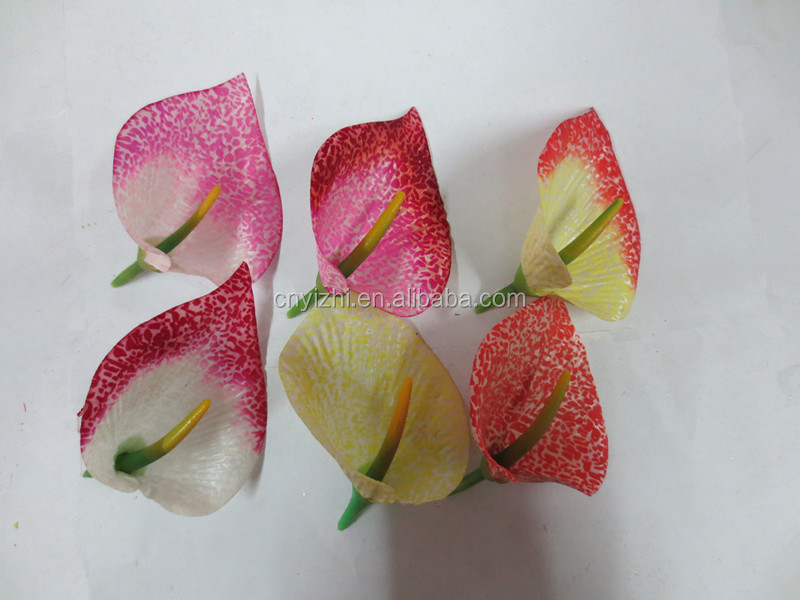 Calla upscale flannel, wholesale artificial flowers