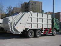 howo 6x4 left hand drive garbage truck dimensions for slae