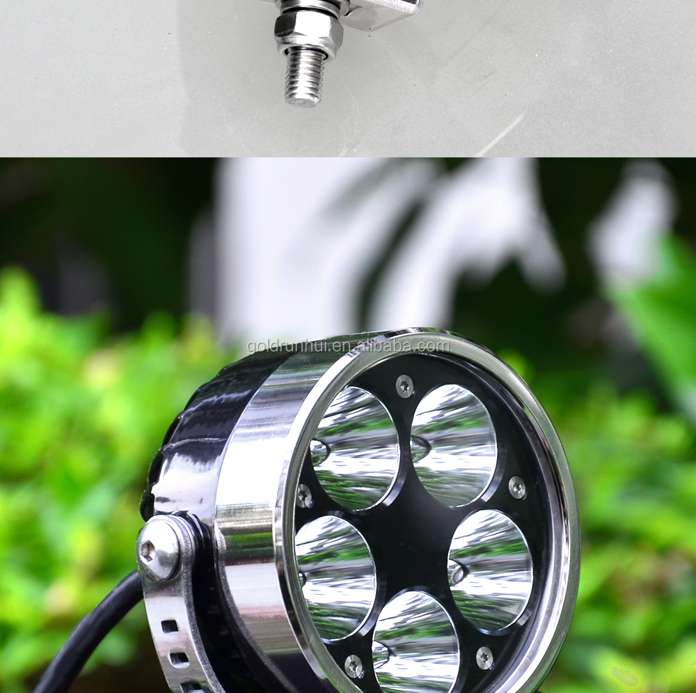 High quality 50w 6000lumens CR EE 5*XM-L2 led motorcycle headlight, motorcycle light