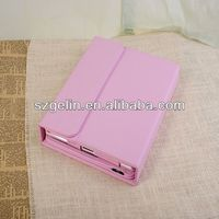 2013 Aluminum alloy wireless bluetooth keyboard case for ipad 3