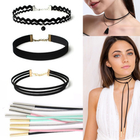 Fashion Velvet Choker Wholesale Customized Simple