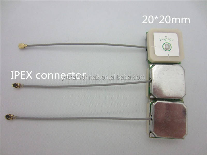 high gain 28dbi <strong>U</strong>.FL connector internal gps antenna for sim900