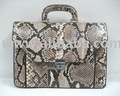 Leather Products: Snake / Python Leather Briefcases, Bags