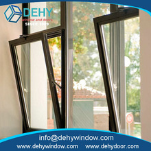 Fashion modern heat insulation decorative fixed window design with low price