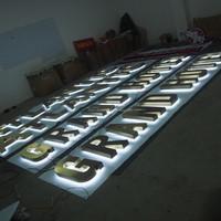 outdoor light up letters backlit acrylic led channel letters 3D letter sign