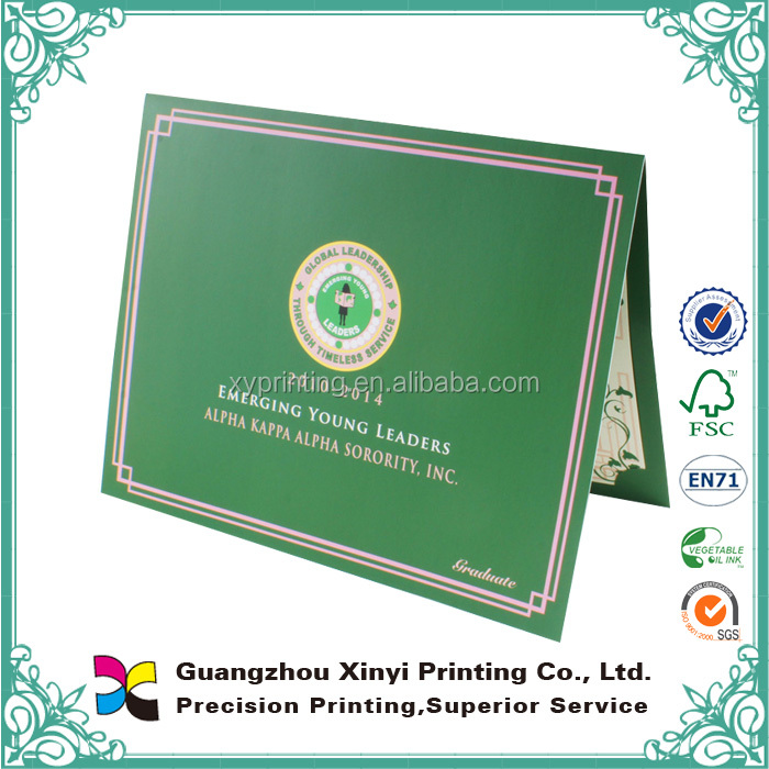 Custom school company certificate professional printing