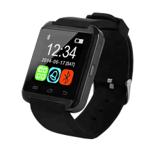 Hot Sale Bluetooth Fitness U8 Plus Smart Watch Mobile Phones SmartWatch Support IOS Android Mobile Watch Phone Touch Screen