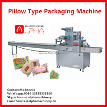 Commercial Pillow pouch horizontal popsicle wrapping packaging machine for sale