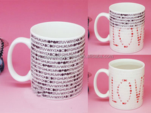 sublimation mug factory customised orca coating promotional white blank ceramic porcelain coffee mug