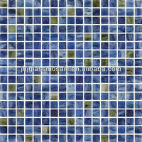 2013 HOT sale High class JNJ mosaic mixed color pattern style glass mosaic