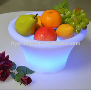 Champagne LED Ice Bucket,led wine bucket,led container