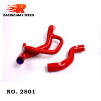 auto silicone hose water hose FIAT PUNTO GT 1.4GT SILICONE RADIATOR HOSE KIT 2501