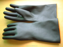 ansell comfortable long cut latex industria work gloves