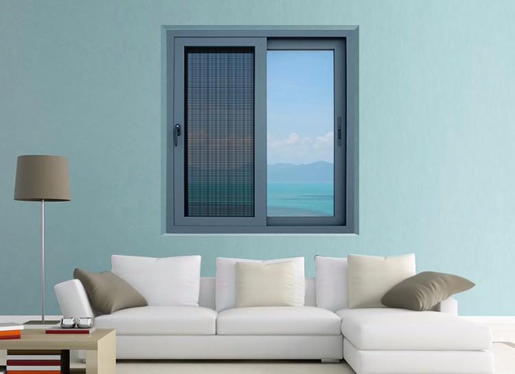 Cheap house windows for sale aluminum alloy grey color for Cheap windows and doors for sale