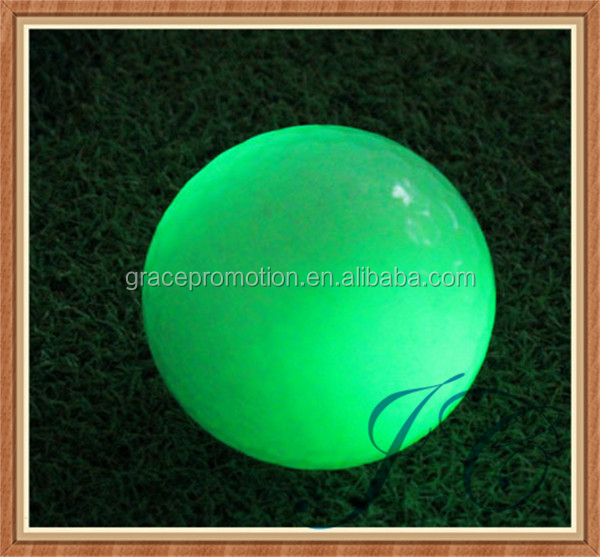 Led golf balls/night golf ball/colorful balls for children