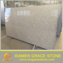 Chinese supplier Yellow rusty granite G682 polised gangsaw big slab cheap price
