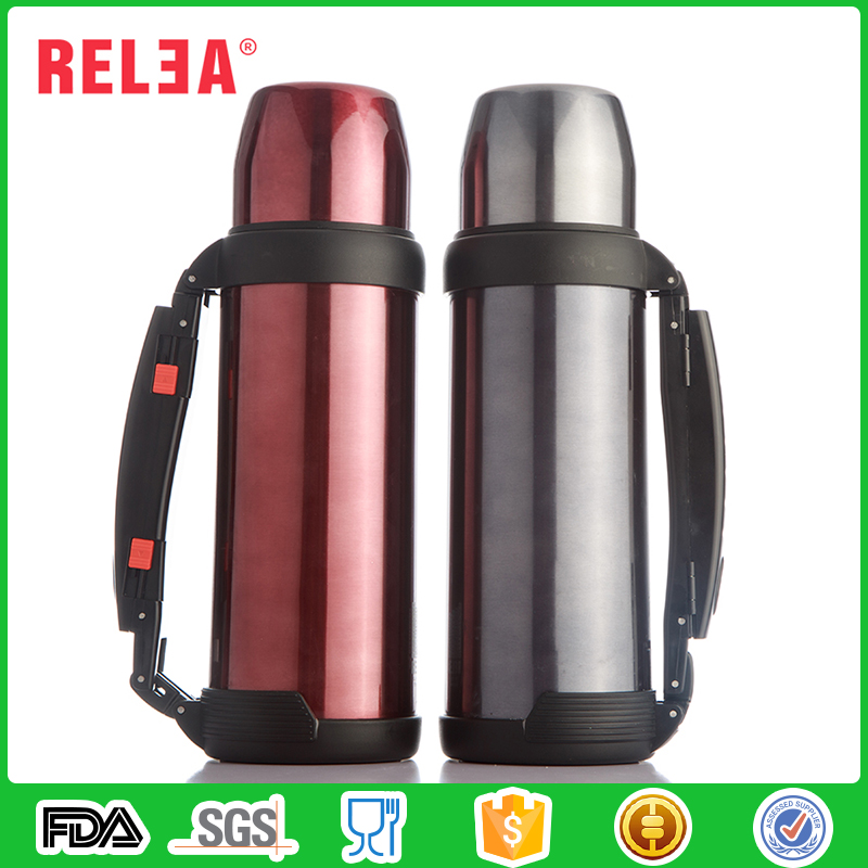 RELEA 1000ml travel sport stainless steel vacuum flask tea kettle
