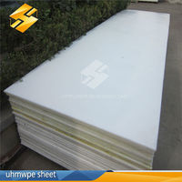 100% pure material white color 15mm hdpe board uhmwpe sheet