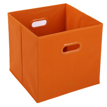 Custom printed nonwoven folding kids clothes storage box