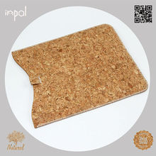 accessory for ipad mini new product slim mobile phone shell with cork leather