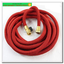 Private Label Garden Hose 50' Ft Expandable Hose Magic Water Hose With All Solid Brass Fittings