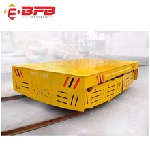 Manufacturer directly 40ton motorized railway flat wagon for coils and dies