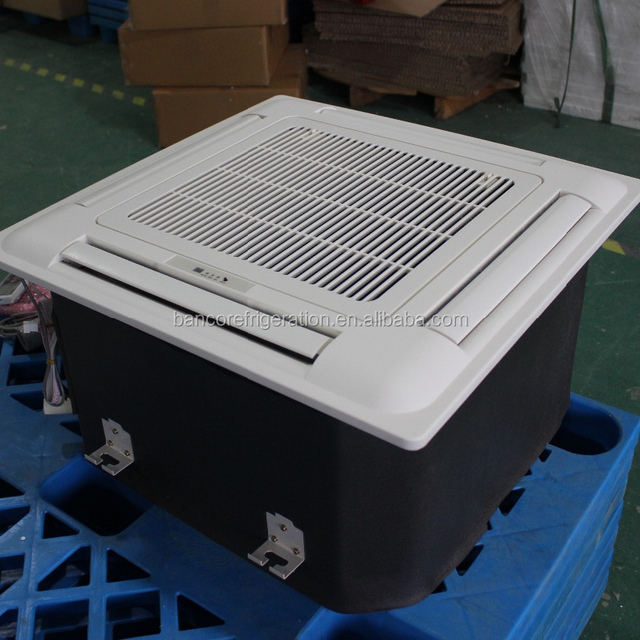 Air conditioner system chilled water cassette type fan coil unit