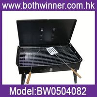 "DA106 ""Large inside inches portable wood pellet barbecue smoker/grill."