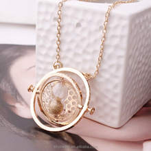 film jewelry, time turner necklace, hourglass necklace