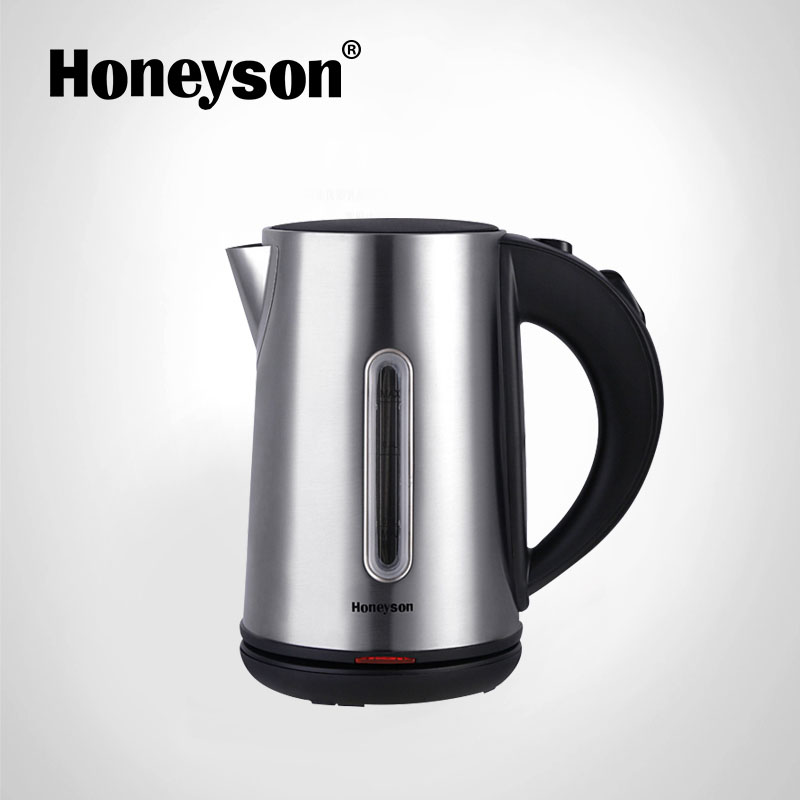 Hotel supplies online classic cordless stainless steel electric kettle