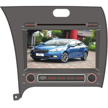 8 inch Window CE 6.0 Car DVD Player with DVD BT for K3 Car Navigation