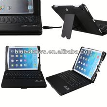 new leather case cover and stand with keyboard keyboard leather case for ipad air