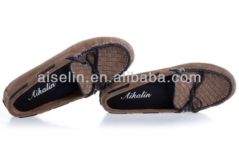 2013 doudou xie brown colour soft bottom flats