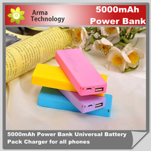2015 New Portable Charge power bank Mobile External Battery 5000mAh for smart watch